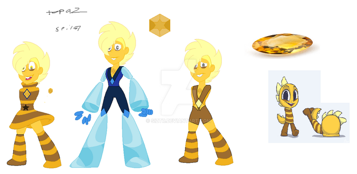 imperial topaz  su character by Siztr