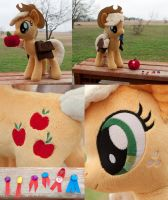 Applejack for SpaceVoyager/PlanetPlush by adamlhumphreys