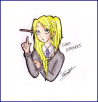 HP: Luna Lovegood by MoniSaku