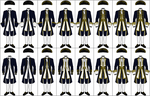 Uniforms of the Royal Navy, 1748-1767 by CdreJohnPaulJones