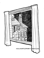 Window by MollysArtCorner