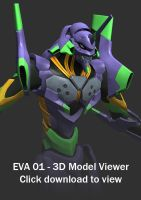 EVA 01 3D Viewer by Garm-r