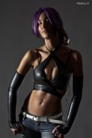 Yoruichi-Make me Purr by Hidrico