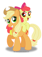 The Apple Sisters by AleximusPrime