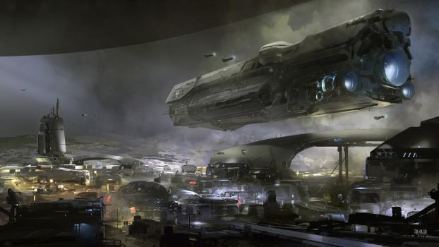 Halo 5 Concept Art by AcerSense