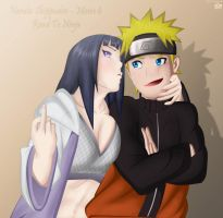 Naruto Hinata Movie 6 Road To Ninja by TheALM