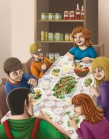 Spender's Family Meal by jpzilla