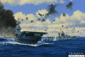 USS Yorktown under attack by bwan69