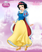Disney Princesses - Winter Snow White by SilentMermaid21