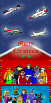 Merry Christmas 2010 by BluebottleFlyer