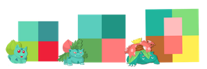pokepalettes 1-3 by Shalmons
