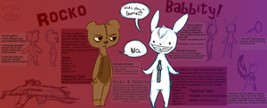 Ref: Rocko and Babbity by CrypticInk