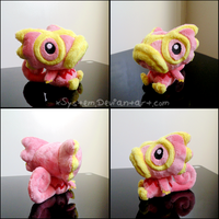 Pink Kecleon Pokedoll by xBrittneyJane