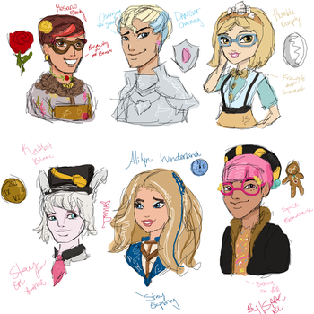 Ever After High: Gender Swap by isaacel