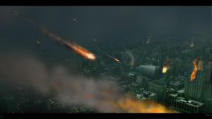 City under fire ... by cambulak