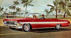 After the age of chrome and fins: 1961 oldsmobile by Peterhoff3