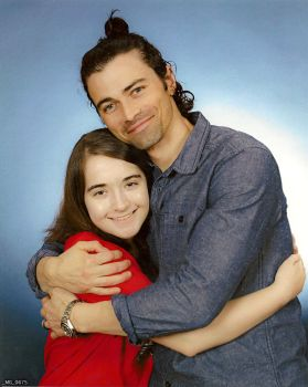 Me with Matt Cohen! by Earth-Girl-42