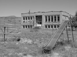 Antelope School by boxcamera