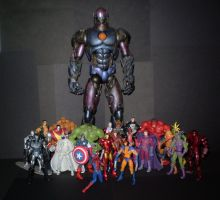 Marvel Figures 1 by CyberDrone