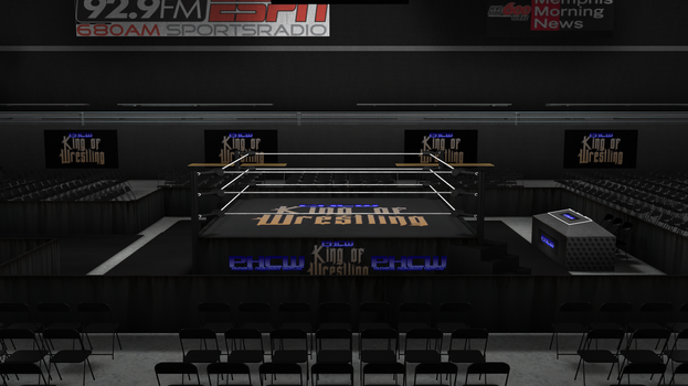 PHCW King of Wrestling Arena HD Concpet. 0004 by KingBearacuda185