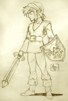 OoT Link sketch by Maiss-Thro