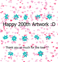 Happy 200th by kairimoon1