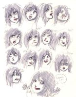 Emalia: expressions by RecklessRecluse