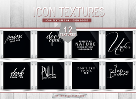 Icon Textures 04 - Open Doors by nk-ash