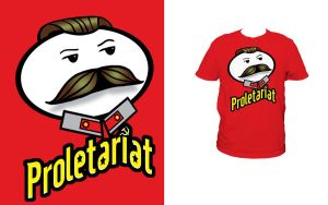Threadless - Stalin's Pringles by ecelsiore