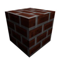 Minecraft Bricks Block by BlowJoe