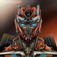 Causeway Age Of Extinction Headshot by Lady-ElitaOne-Arts