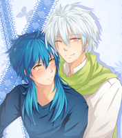 Dmmd: Clear x Aoba by naotorii