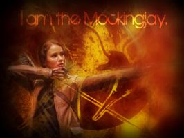 I am the Mockingjay by 4thElementGraphics