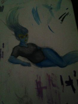 blue flame by SnapCrackle420