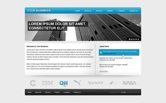 Business Template by Laurie-J