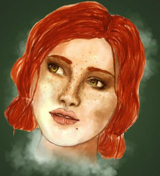 Triss by Tiny-Nightmare