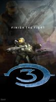 Halo 3 Poster by DANYVADERDAY