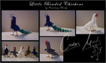 Little Beaded Chickens by Wyandotte