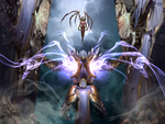 Tyrael  ARCHANGEL OF JUSTICE and KERRIGAN by the-Golden-Elf