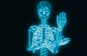 X-Ray Flip Off by porletto
