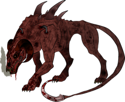 Kyrian's Hellhound  Form by Creed-Senpai