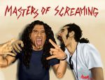 Masters of Screaming by Red-Szajn