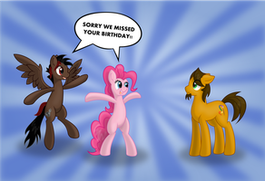 I MISSED YOUR BIRTHDAY!! by EROCKERTORRES
