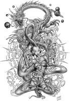 Female-Action by phoebus-chango