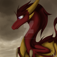 Dust in the wind by SolarPaintDragon