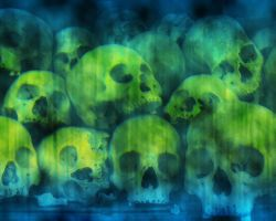 Skulls by silver-