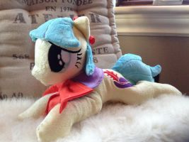 Coco Pommel plush pony for sale by Littlestplushoppe