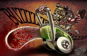 leatherface chainsaw by Rev-Johnny-Stiletto