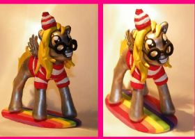 Wheres Derpy Fanmade Mlp Fim Sculpt by quantumcreations