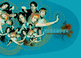 Paramore Layout by escapetherain